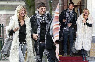 Kate Moss and Jamie Hince in Amsterdam