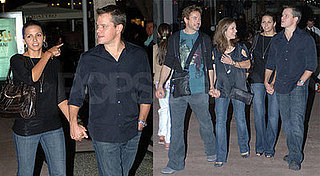 Matt Damon and Robert Downey Jr in Miami