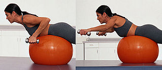 Shoulder Exercises on an Exercise Ball