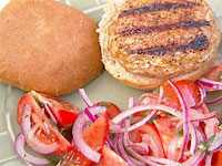 Recipe for Stuffed Turkey Burgers