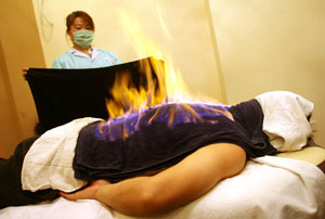 Fire Massage