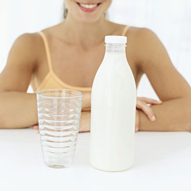 Fat Free Milk Reduces Hypertension Risk in Women