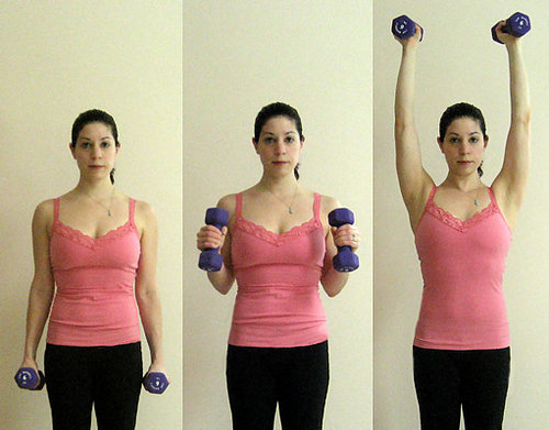 Get Lifted: Hammer Curl Shoulder Press