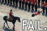 Buckingham Palace Guard: Fail
