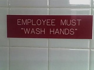 Arby's Employees: Hand Washing Is Optional?