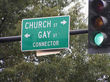 Church and Gay Connector