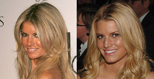 Marisa Miller and Jessica Simpson Look Alike