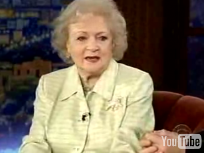 """I'm Betty White, B*tch!"""