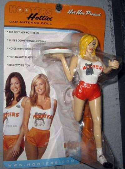 Hooters Car Antenna Accessory
