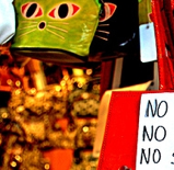 """No Sex in the Shop"" Sign"