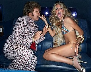 Heidi Klum and Will Ferrell in Sports Illustrated