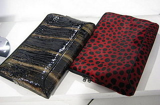 Leopard and Faux Alligator Skin Laptop Sleeves: Geek or Chic?