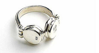 The Sterling Silver Headphones Ring Makes My Faves List