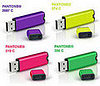 Get Personal With Pantone&#039;s Colorful Flash Drives 