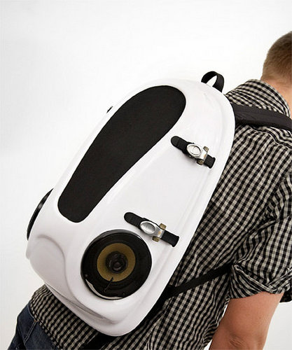 Reppo II Boombox on Your Back: Cool, but Please Don't Get on the Bus With Me
