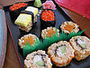 Cookies Shaped Like Pieces of Sushi