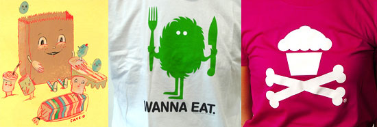 Ten Food Tees Your Friends Will Covet