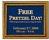 Auntie Anne's is Giving Away Free Pretzels this Saturday