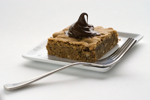 Yummy Link: Hazelnut Blondies