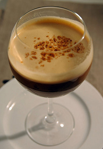 Guinness Stout Infused with Sweetened Condensed Milk, Chocolate, and Ginger