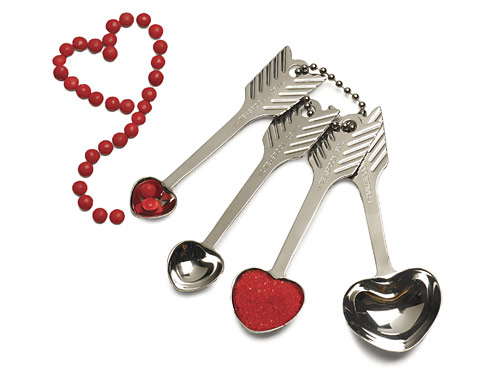 Heart-Shaped Measuring Spoons