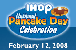 IHOP Celebrates National Pancake Day with Free Pancakes