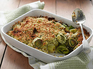 Crumbly Side: Leek Cheese Crumble