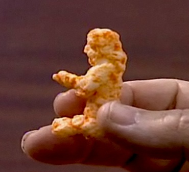 Man Finds Jesus in a Cheeto