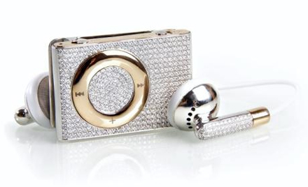 Gold and Diamond iPod Shuffle