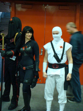 Storm Shadow and Baroness from <b>G.I. Joe</b>