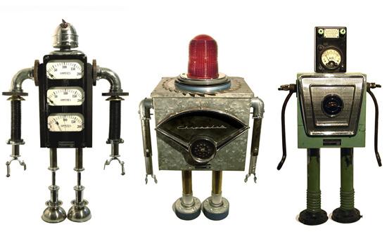 Bennett Robot Works Sculptures