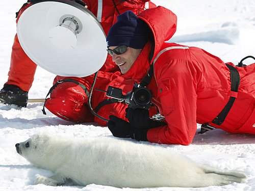 Nigel Barker Makes A (Fashion) Statement Against Seal Fur