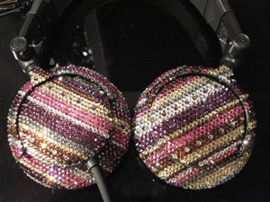 Headphone Bling from Amateur Meister and +D Style