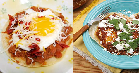 Huevos Rancheros Two Ways — Beginner and Expert