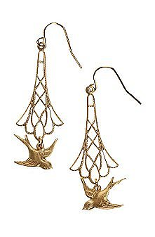UrbanOutfitters.com > Erica Weiner Sparrow Earrings ($28)