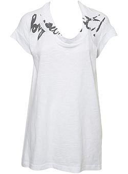 Printed Tee by Boutique - Topshop