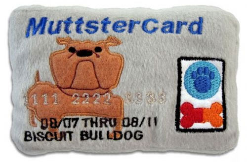 Bare Bones: Doggie Credit Cards