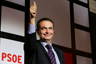 Zapatero Wins Another Term in Spain