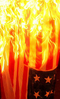 Flag Burning. Free Speech or Abomination?