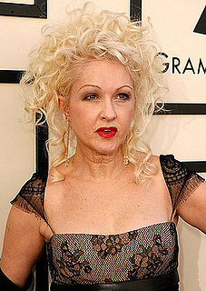 Cyndi Lauper's Hair and Makeup at the 2008 Grammys