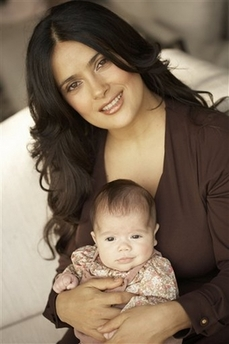 Wee Are the World: Salma Hayek Spokeswoman For Vaccine