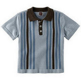 Amadou Stripe Sweater Polo ($55)