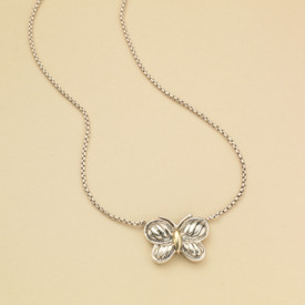 David Yurman Butterfly Necklace ($150)