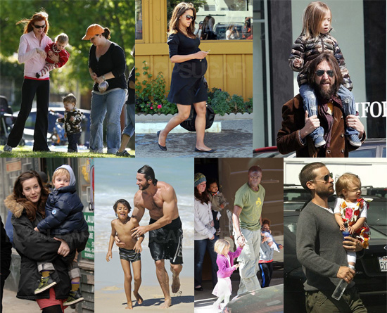 Celebs Stepped Out With Their Babies This Weekend