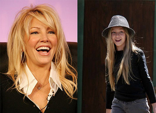 Ava Sambora and Heather Locklear