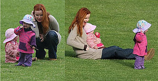 Marcia Cross and Her Twins
