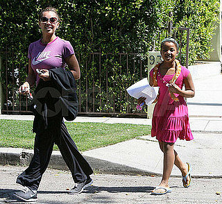 Vanessa Williams and Sasha Fox