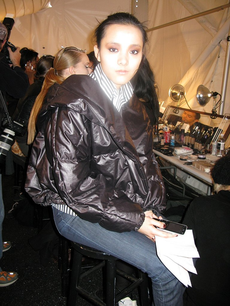 Backstage With MAC At Bill Blass