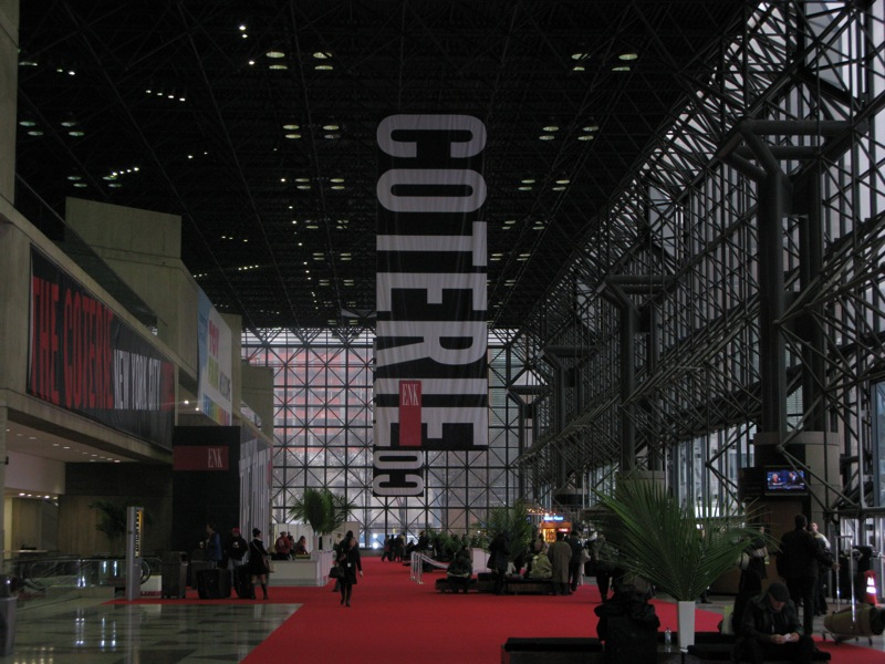 Coterie Trade Show in New York City In January 2008