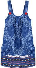 Scrapbook blue bandana dress